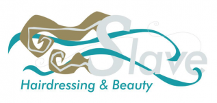 Slave hairdressing and beauty logo